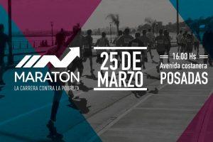 Mañana se realiza la cuarta maratón contra la pobreza en Posadas
