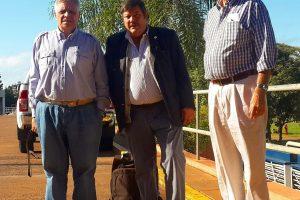 El titular de CRA está en Misiones visitando chacras y establecimientos agropecuarios