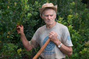 """Agroecología: """"Nunca trabajé con venenos y voy a morir sin venenos"""""""