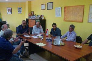 Industria en Eldorado junto a trabajadores de la madera y el intendente Aguirre