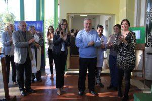 Passalacqua participó de inauguración de biblioteca en el hospital Madariaga