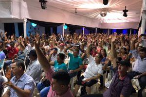 En una Asamblea masiva eligieron aBárbaro como presidente de Actim