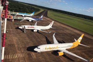 El aeropuerto de Iguazú superó por primera vez la barrera del millón de pasajeros