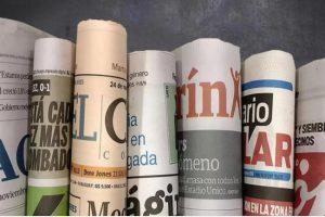 Las tapas de los diarios del jueves 1 de marzo