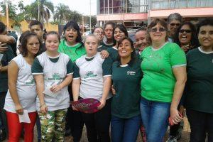Jardín América: La Asociación Crecer Unidos realizó caminata por la inclusión y la igualdad