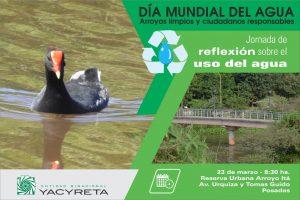 Día Mundial del Agua en la reserva ITÁ