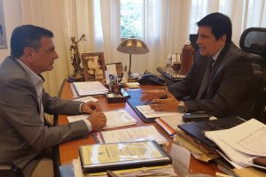 Lenguaza presentó al STJ el proyecto de pisomínimo presupuestario para el Poder Judicial
