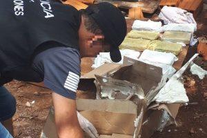 La Policía incautó carga de Hachís y 47 panes de marihuana en Montecarlo