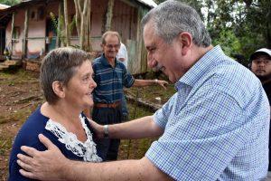"""Viviendas rurales: """"Tratamos de retribuir modestamente el enorme esfuerzo de la familia agrícola"""", dijo Passalacqua"""