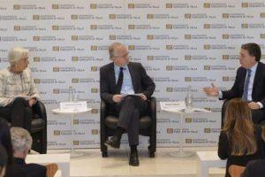 Fuerte apoyo de Lagarde al gradualismo del Gobierno
