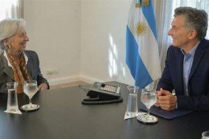 Macri y la titular del FMI: elogios al gradualismo, pero no hablaron de inflación