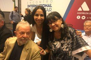 Legisladoras misioneras participaron de un acto junto a Lula da Silva en Brasil