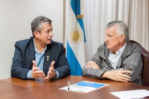 Pereyra Pigerl se reunió con Gioja por la mira puesta en el peronismo 2019
