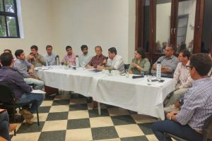 Funcionarios municipales explican el funcionamiento del SEM a los Concejales