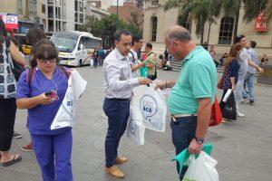 """Turismo: invitaron a cordobeses a """"dejar su huella"""" en Misiones"""