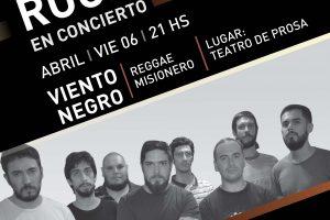 Con Viento Negro inicia la temporada del Ciclo de Rock en Concierto