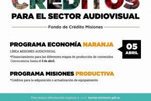 Hasta este jueves hay tiempo de acceder a los créditos para el sector audiovisual