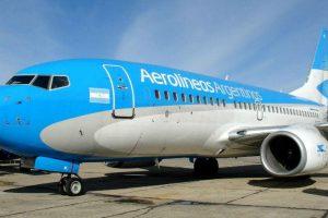 Los aviones de Aerolíneas Argentinas serán desinfectados con una nueva tecnología por la pandemia