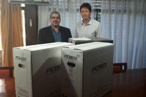 El Iplyc entregó dos computadoras a la Fiscalía de Estado