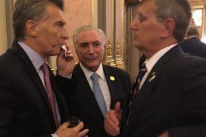 Macri y Temer dialogaron sobre el puente San Javier-Porto Javier en Misiones