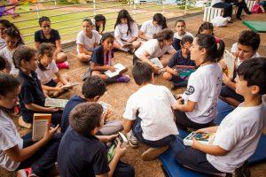 Juegos e imaginación se dan cita en el Club de lectura de la Biblioteca del Parque del Conocimiento