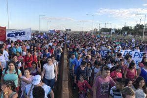 """Comienza la """"Marcha Federal"""" de los movimientos sociales"""