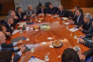 Dujovne encabezó la primera reunión de coordinación del Gabinete Económico