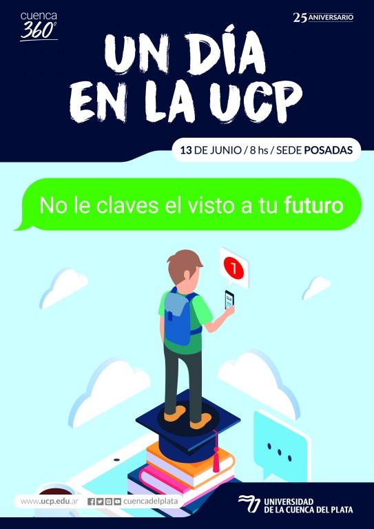 """Posadas: organizan la jornada """"Un día en la UCP"""""""