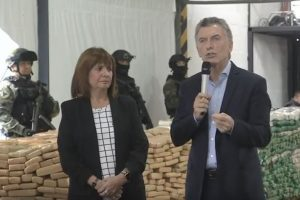 """Mauricio Macri resaltó la lucha contra el narcotráfico: """"Juntos, los argentinos somos capaces de hacer grandes cosas"""""""