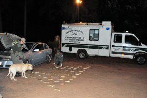 Detienen en San Ignacio a una pareja que trasladaba más de 29 kilos de cocaína
