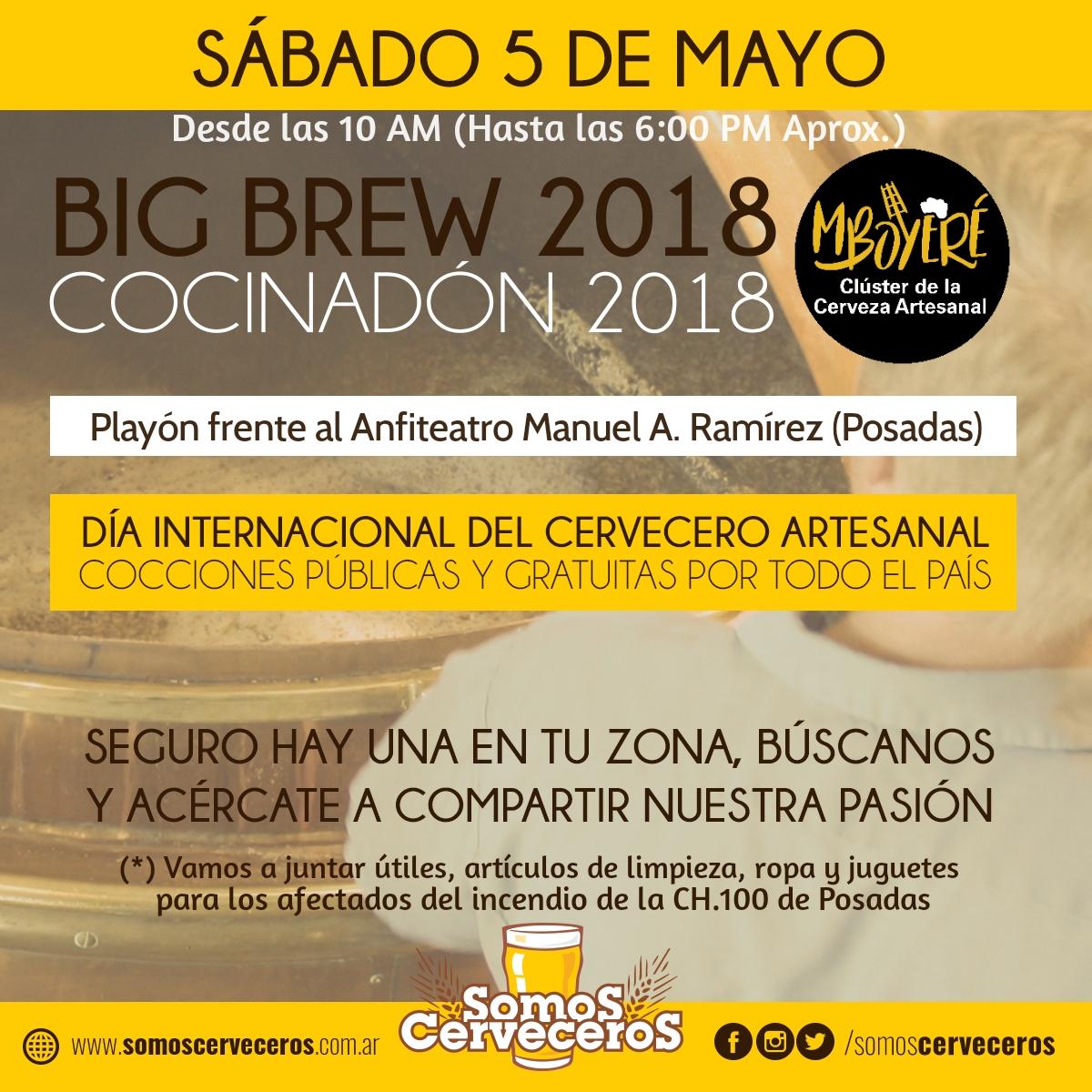Este sábado podrás disfrutar de la mejor cerveza artesanal en el Parque Paraguayo