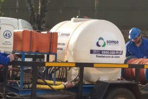 Samsa adquirió nuevo equipo desobstructor de cloacas