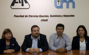 Firma de convenio de la Facultad de Exactas con Colegios de Enfermería