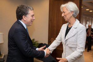 """Dujovne se reunió con Lagarde y consiguió un """"fuerte respaldo"""" de Estados Unidos"""