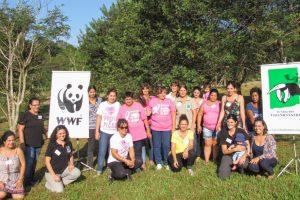 Las mujeres se reunieron por la conservación del monte misionero en Andresito