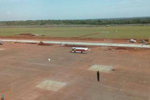 El martes quedaría habilitado el aeropuerto de Iguazú