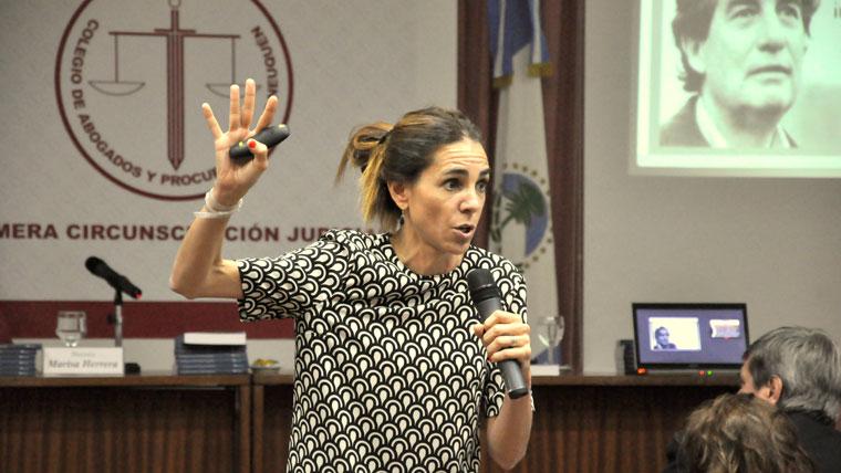 """Marisa Herrera disertará sobre """"Aborto y Derecho"""" en la UGD"""