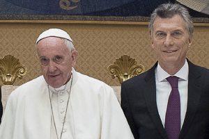 """El Papa le pidió a Macri """"una sociedad más justa, fraterna y solidaria"""""""