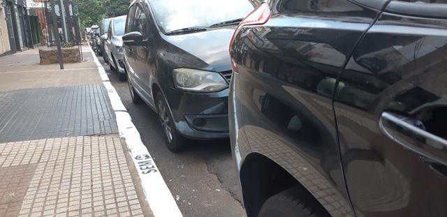 SEM: demarcan lugares permitidos y espacios para estacionamiento de motos en Posadas