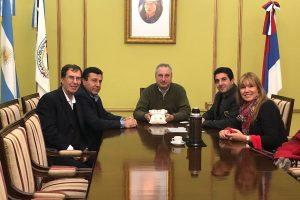 Passalacqua recibió a los empresarios sirios del Grupo Kabour