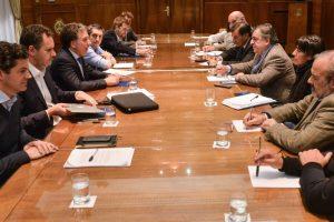 Pastori se reunió con Dujovne para conocer detalles del plan de ajuste