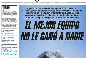 """Las tapas de los diarios del domingo: """"El mejor equipo no le ganó a nadie"""", sintetiza Página 12"""