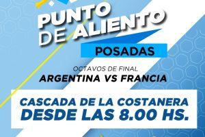 Posadas se suma a los Puntos de Aliento de la Selección Argentina