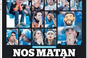 Las tapas del viernes 22/6: Desastre mundial de la Selección Argentina y la caída del dólar