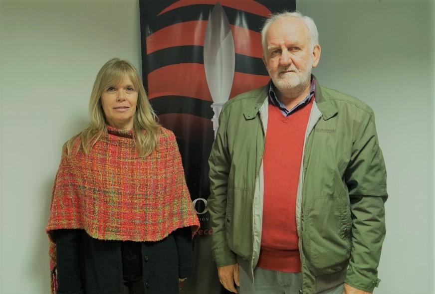 Alicia Violeta Bohren y Luis Kramer, de Convergencia.