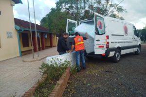 Protección Civil asistió a más de 100 familias afectadas por el temporal