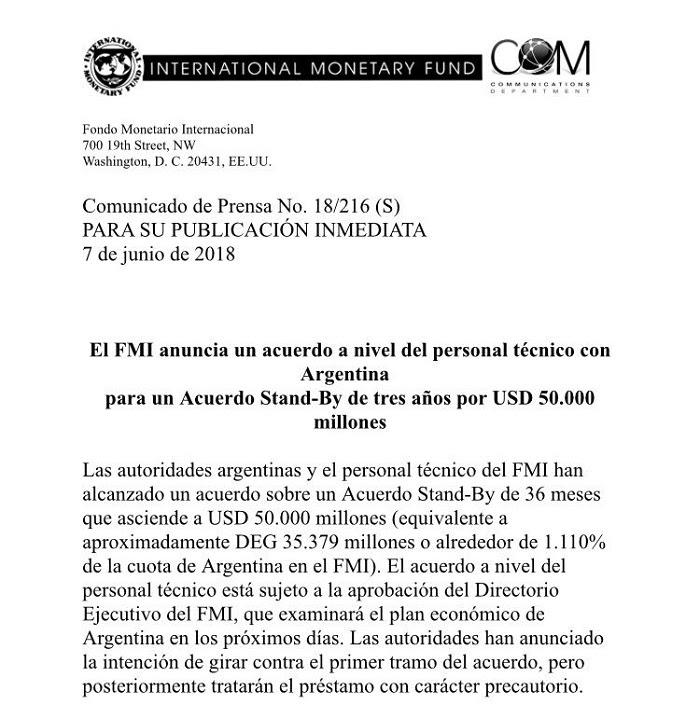 Acuerdo con el FMI: El ajuste será de $500.000 millones y pegará fuerte en provincias y municipios