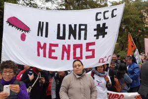 Las consignas #NiUnaMenos y #AbortoLegal se hicieron escuchar en la Plaza central de Posadas