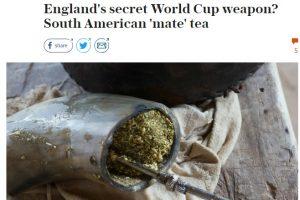 La yerba mate gana mercados en… la selección inglesa