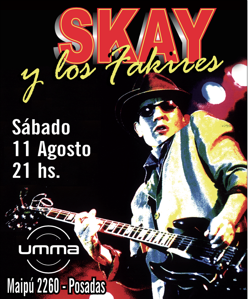 Comienza la venta de entradas para el show de Skay Beilinson en Posadas